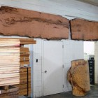 California Redwood slabs