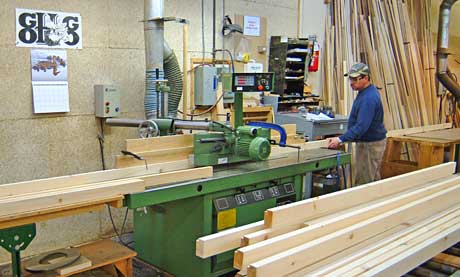 A shaper for custom mouldings